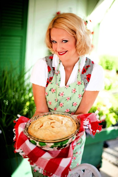 Lady With Apple Pie