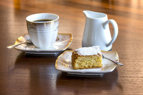 Coffee Cake and Coffee