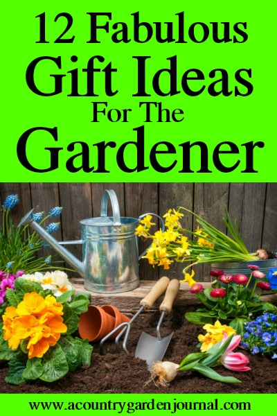 GARDENING GIFT IDEAS, A COUNTRY GARDEN JOURNAL