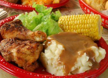 CHICKEN DINNER, A COUNTRY GARDEN JOURNAL
