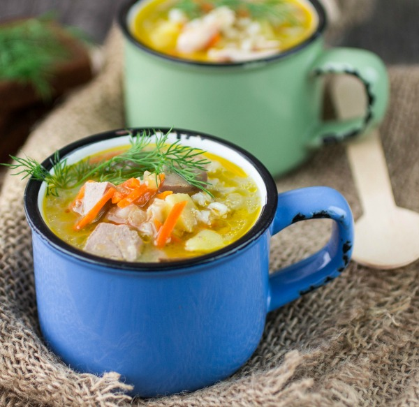 CHICKEN SOUP IN A CUP